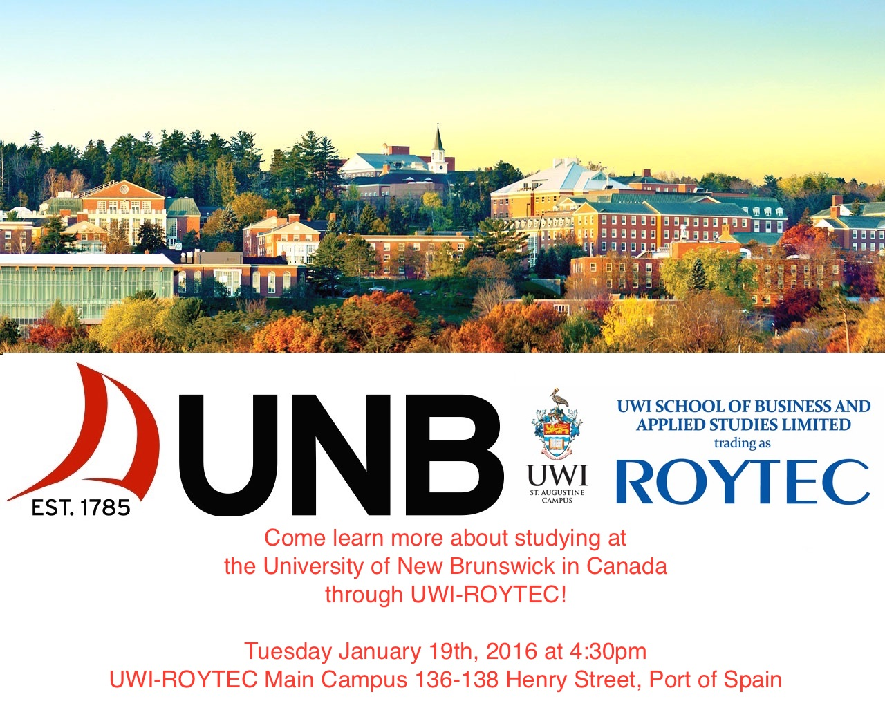 UNB Information Session