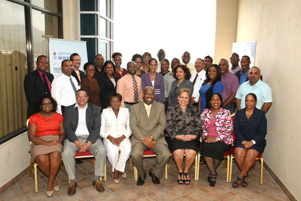 The first cohort of the Executive Leadership Series programme